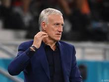 Frankreich-Coach Deschamps ist mit seinem Team der klare Favorit