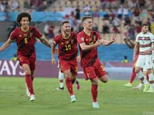 Thorgan Hazard schoss Belgien ins Viertelfinale der EM