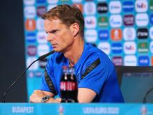 Frank de Boer ist nicht mehr Coach der Niederlande