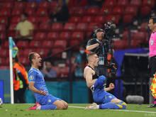 Die Ukraine jubelt über den Einzug ins Viertelfinale
