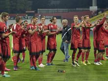Admira Wacker will im ÖFB-Cup erneut für Furore sorgen