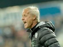 Trainer Pfeifenberger hätte sich wohl ein Weiterkommen erhofft
