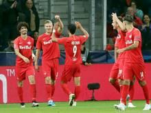 Salzburg will gegen Ebreichsdorf den Viertelfinaleinzug perfekt machen