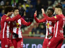 Keine Probleme für Salzburg gegen Regionalligist Ebreichsdorf im Cup