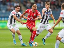 LASK gegen Sturm ist das einzige Duell zweier Bundesligisten