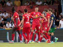 Salzburg startete mit einem 4:1 gegen Hertha Wels in den ÖFB-Cup