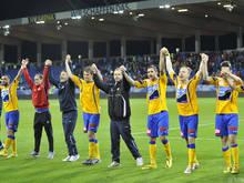 Die im ÖFB-Cup so erfolgreichen St. Pöltner wollen auch im Europacup für Furore sorgen