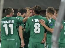 Salzburg holte dreimal mehr Punkte als Rapid