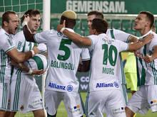 Rapid steht als einzige Österreichische Mannschaft im EL-Play-Off