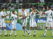 Rapid will im Rückspiel die Früchte des 3:1-Siegs aus Wien ernten