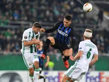 Inter erwies sich gegen Rapid als abgebrühte Mannschaft