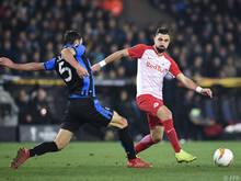 Salzburg bezog seltene Niederlage in Brügge