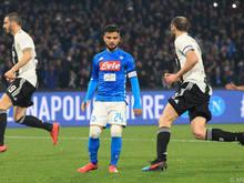 In der Serie A sind die Titelchancen für Napoli dahin, der Fokus liegt nun auf der Europa League