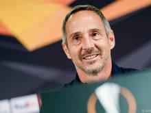 Frankfurt-Trainer Adi Hütter hat einen Brocken vor sich