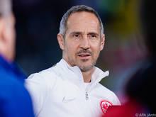 Adi Hütter hofft auf einen Aufschwung nach drei Niederlagen in Folge