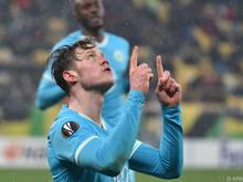 Wout Weghorst erzielte für Wolfsburg das Tor des Tages
