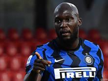 Der Inter Mailand-Stürmer schoss sein Team bis ins Finale
