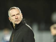 LASK-Trainer Dominik Thalhammer erwartet ein intensives Spiel