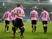 Der LASK will sich mit einem Sieg aus der Europa League verabschieden