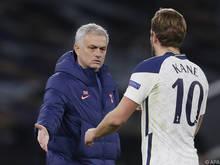 José Mourinho und Harry Kane, zwei der vielen klingenden Namen bei WAC-Gegner Tottenham