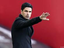 Mikel Arteta steht mit dem Arsenal FC unter Erfolgsdruck
