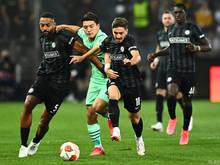 Sturm zeigte gegen die PSV phasenweise ein ansehnliches Spiel