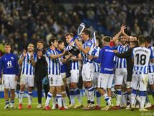 Der Cupsieg wurde verspätet mit Fans zelebriert