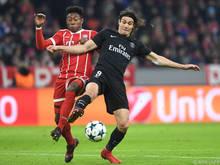 David Alaba spielte gegen PSG von Beginn an