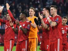 Bayern löste das Achtelfinal-Ticket mit einem 5:1 gegen Benfica