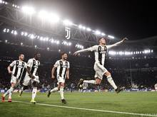 Juves unumstrittener Superstar erzielte alle drei Treffer des Abends