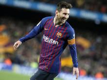 Lionel Messi steht in dieser Saison bei 43 Toren und 21 Assists