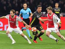 Ajax Amsterdam überraschte auch Favorit Juventus