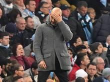ManCity-Coach Pep Guardiola ist in der Champions League glücklos