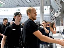 Die LASK-Spieler gastieren am Mittwochabend in Brügge