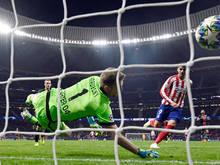 Alvaro Morata traf zum 1:0-Sieg Atleticos gegen Leverkusen