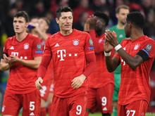 Die Bayern bejubeln den frühzeitigen Aufstieg