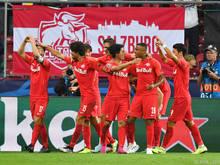 Die Salzburger peilen einen Auswärtssieg an