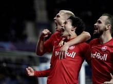 Salzburg jubelt über den zweiten Saisonsieg in der Königsklasse