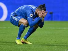 Cristiano Ronaldo steht mit Juventus vor dem Aus in der Königsklasse