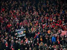 Das Match zwischen Liverpool und Atlético Madrid fand noch im vollen Stadion statt