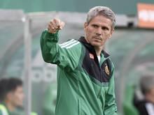 Rapid-Coach Dietmar Kühbauer sieht sein Team gut vorbereitet