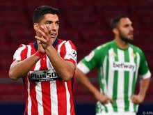 Luis Suárez ist in Form und bei Atlético gut eingespielt