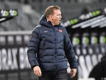 Leipzig-Coach Nagelsmann hofft auf Zählbares