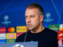 Bayern-Coach Flick erwartet ein schweres Spiel