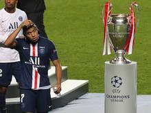 2020 durfte PSG den Pokal nur anschauen: Kylian Mbappé will heuer mehr.