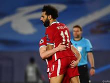 Sein Tor im Hinspiel lässt Liverpool hoffen: Mohamed Salah