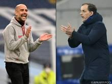 Guardiola und Tuchel Freunde und Rivalen im CL-Finale