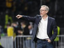 Stöger schafft erste CL-Teilnahme als Trainer nicht