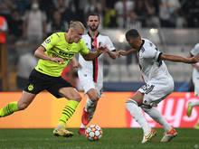 Erling Håland war für Dortmund erfolgreich