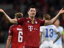 Lewandowski schießt erneut Tor um Tor